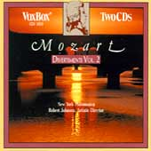 Mozart: Divertimenti Vol II / Johnson, New York Philomusica