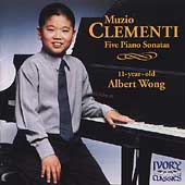 Clementi: Five Piano Sonatas / Albert Wong