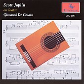 Giovanni De Chiaro: Scott Joplin on Guitar