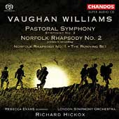 Vaughan Williams: Pastoral Symphony, etc /Hickox, Evans, LSO