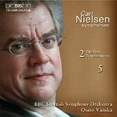 Nielsen: Symphonies no 2 and 5 / Osmo Vanska, BBC Scottish