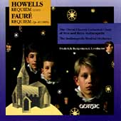 Howells: Requiem;  Faur&eacute;: Requiem / Frederick Burgomaster
