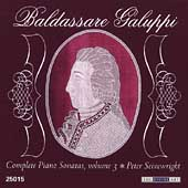 Galuppi: Complete Piano Sonatas Vol 3 / Seivewright