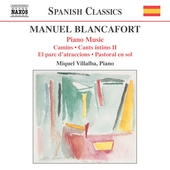 Blancafort: Complete Piano Music Vol 3 / Villalba