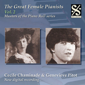 Masters of the Piano Roll - The Great Female Pianists Vol 2
