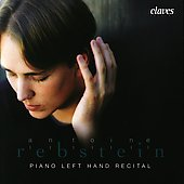 Left Hand Piano Recital - Bach, Brahms, et al / Rebstein