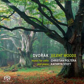 Dvorak: Silent Woods; Polonaise in A; transcriptions of songs & violin pieces for cello & piano / Christian Poltera, cello; Kathryn Stott, piano