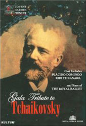 Gala Tribute To Tchaikovsky / Royal Opera House / Domingo, Te Kanawa [DVD]