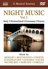 A Musical Journey: Night Music, Vol. 1 / Italy, Switzerland, German, France [DVD]