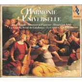 Harmonie Universelle. M.figueras, Hesperion Xxi, Cap.reial D