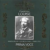 Prima Voce - Charpentier: Louise / Bigot, Vallin, Pernet