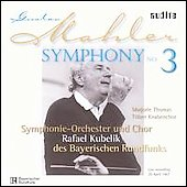 Mahler: Symphony no 3 / Kubelik, Thomas, Bavarian RSO, et al