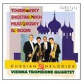 Russian Melodies - Tchaikovsky, etc/ Vienna Trombone Quartet