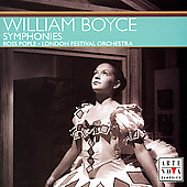 Boyce: Symphonies / Ross Pople, London Festival Orchestra
