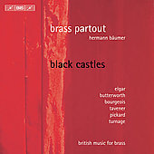 Pickard: Black Castles;  Elgar, etc / B&auml;umer, Brass Partout