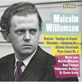 Williamson: Piano Sonata no 2, Sinfonia Concertante, etc
