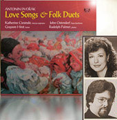 Dvorák: Love Songs & Folk Duets, etc / Ciesinski, et al