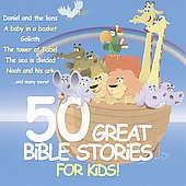 Various Artists: 50 Great Bible Stories for Kids