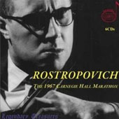1967 Carnegie Hall Marathon / Rostropovich, Rozhdestvensky, et al