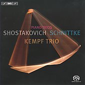Shostakovich: Piano Trio 1 In C Minor Op 8; Schnittke: Piano Trio 2