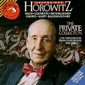 Vladimir Horowitz - The Private Collection Vol 1