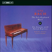 C.P.E. Bach: The Solo Keyboard Music, Vol. 21 / Spanyi