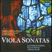 Kathryn Steely plays Viola Sonatas by Abel, Flackton & Handel