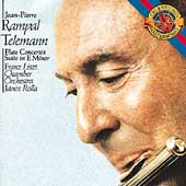 Telemann: Flute Concertos, etc / Rampal, Rolla