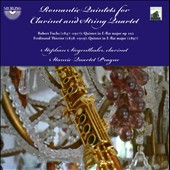 Romantic Quintets for Clarinet and Strings by Fuchs & Thieriot / Stephan Siegenthaler, clarinet