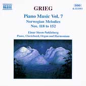 Grieg: Piano Music Vol 7 - Norwegian Melodies Nos 118 to 152
