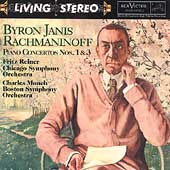 Rachmaninoff: Piano Concertos no 1 & 3 / Byron Janis