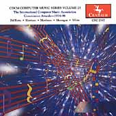 CDCM Computer Music Series Vol 25 -Montague, Harrison, et al