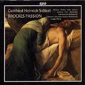 Stolzel: Brockes Passion / Remy, Telemann Chamber Orchestra