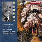 Rubbra: Symphonies no 3 & 7 / Hickox, BBC NO of Wales