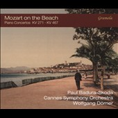 Mozart on the Beach - Piano Concertos Nos. 21, K 467 and 9, K 271 'Jeunehomme'; Silence on the Beach, Adagio in C major, K 356 / Paul Badura-Skoda, piano