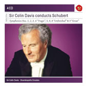 Sir Colin Davis conducts Schubert, the complete symphonies / Staatskapelle Dresden [4 CDs]
