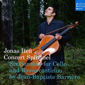 Six Sonatas for Cello & Basso continuo by Jean-Baptiste Barrière
