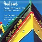 Camilleri: The Piano Concertos / De Groote, Laus, et al