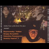 Various Artists: Golden Years of the Soviet New Jazz, Vol. 1