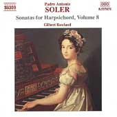 Soler: Sonatas for Harpsichord Vol 8 / Gilbert Rowland
