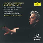 Beethoven: Symphony no 9 / Karajan, Berlin PO, et al