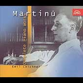 Martinu: Complete Piano Works / Emil Leichner