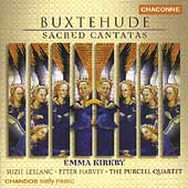 Buxtehude: Sacred Cantatas / Kirkby, LeBlanc, Harvey, et al