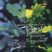 Tubin: Symphonies no 4 & 7 / Volmer, Estonian National SO