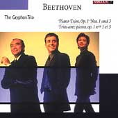 Beethoven: Piano Trios Op 1 no 1 & 3 / Gryphon Trio