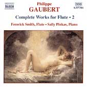 Gaubert: Complete Works for Flute Vol 2 / Smith, Pinkas