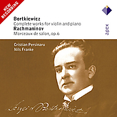 Bortkiewicz: Complete Works for Violin & Piano;  et al