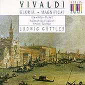 Vivaldi: Gloria, Magnificat / G&#252;ttler, Ihle, Wilke, et al