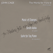 John Cage Edition Vol 29 - Cage: 7 Haiku, etc / Joste