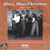 Various Artists: Blues, Blues Christmas: 1925-1955